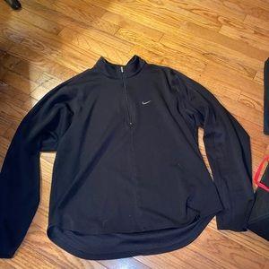 Black Vintage Nike dri fit quarter zip